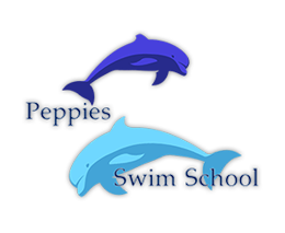 Peppies Swim School Mobile Logo