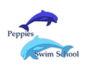 Peppies Swim School Logo